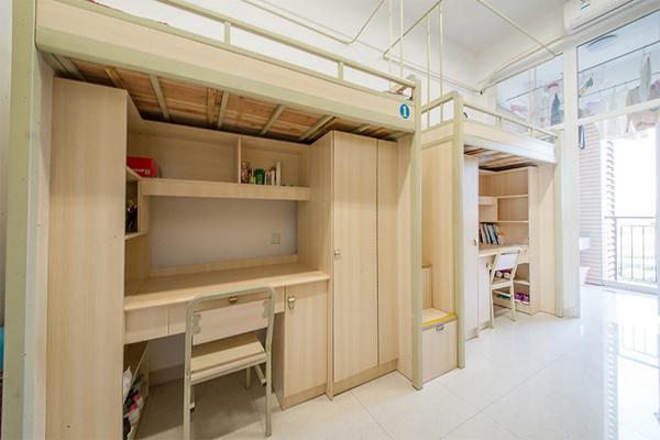 四川城市技师学院学校寝室