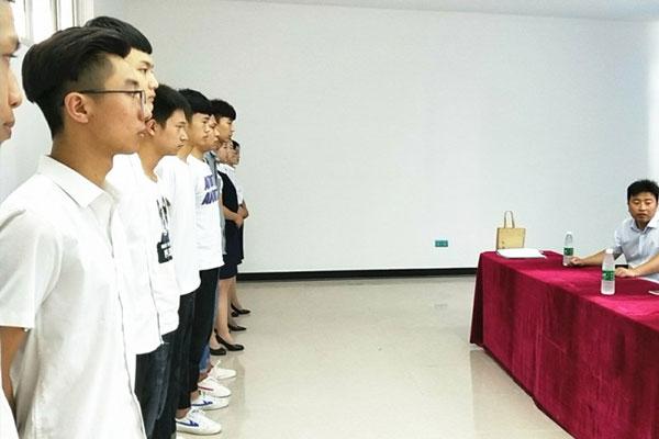 北京中安保来我校举办现场招聘会
