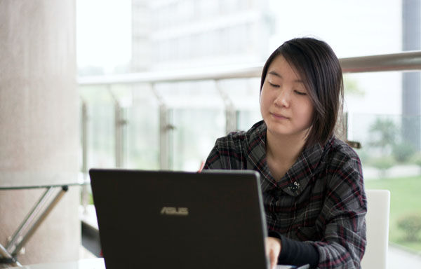 女生学计算机专业